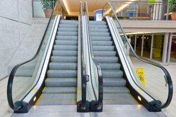 Escada rolante seminova