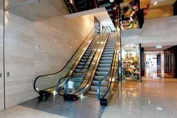 Escadas rolante nova